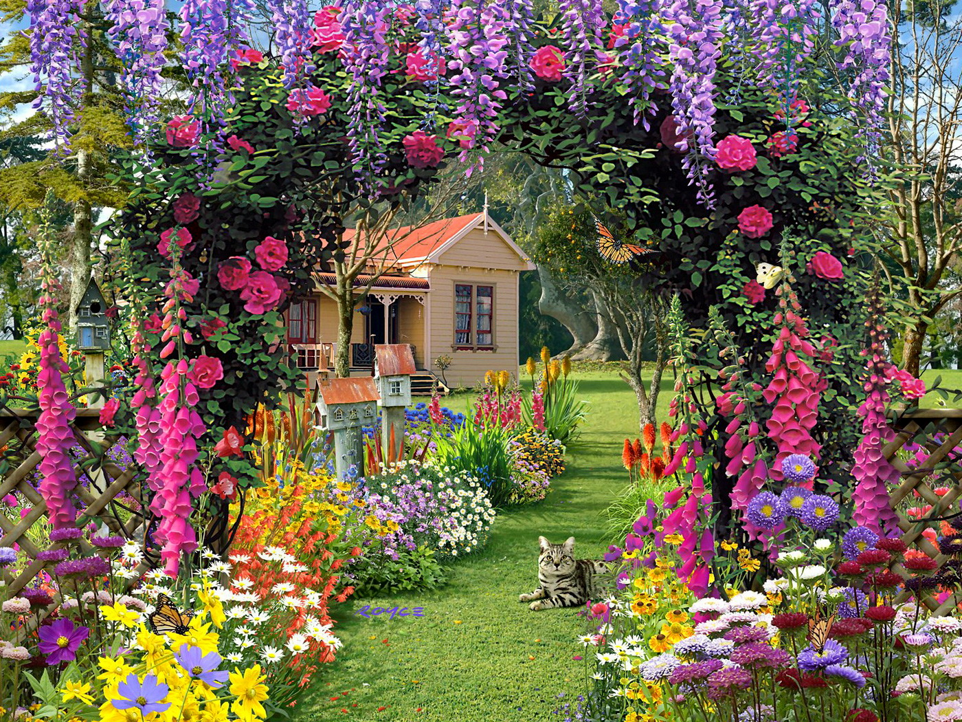 Comment Faire Un Beau Jardin comment créer un superbe jardin de fleurs – jardins et potagers